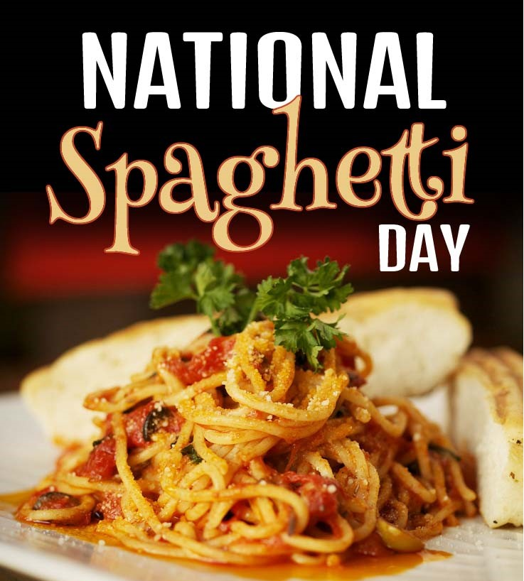 Jan 4th, 2020 – National Spaghetti Day and the Music Minute