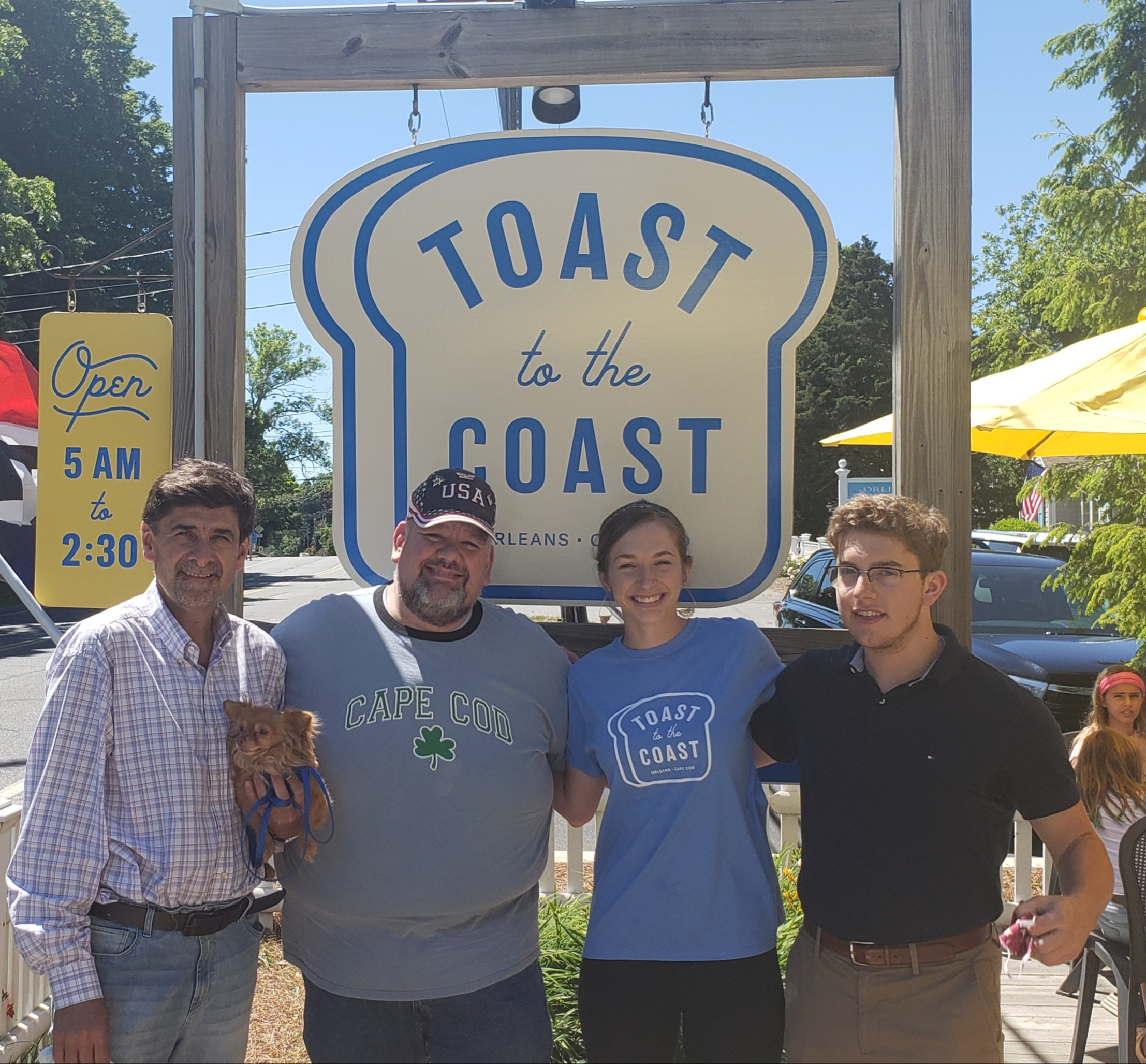 June 20th, 2020 – Out With Joe escapes to the Cape… and finds Toast to the Coast!